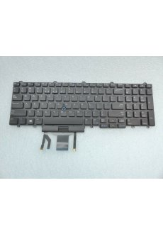 Tastatur Dell US QWERTY Latitude E5550 E5570,  mit...