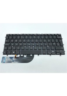 Dell Tastatur Backlight XPS 13 QWERTY UK 07DTJ4