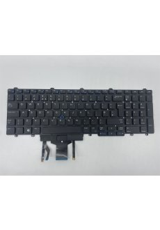 Dell Tastatur 0FP367Y UK(QWERTY)  E5550 E5570 E5580 M7510...