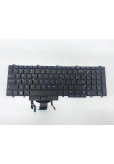 Dell Tastatur  0TF5M0 US International(UN) E5550 E5570...